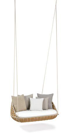 seater garden hanging chair swingus garden hanging chair dedon
