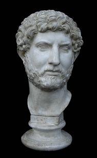Hadrian bust / 117 - 138