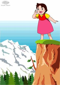 HEIDE Los sábados por la tarde.... Heidi Cartoon, Retro, 80 Cartoons, Classic Cartoons, The Old Days, Sweet Memories, Colouring Pages, Betty Boop, Clipart
