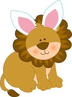 easter-jungle-animals-clipart-013.png (286×383)
