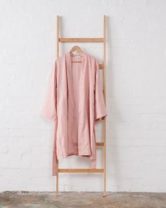 """Jade and May on Instagram: """"Dusky Rose Pure Linen Kimono Bath Robe 💗  Online now or in store at our new shop at 17a Rutland St, Newtown. 📷 : @cricket_studio"""""""