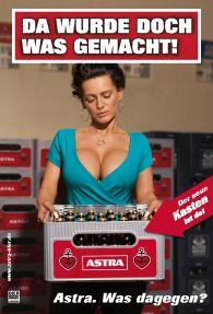 Astra Plakat Werbung