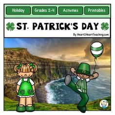 St.+Patrick's+Day+Activities+-+Your+students+will+love+learning+all+about+St.+Patrick's+Day+with+this+activity+pack!St.+Patrick's+Day+is+such+a+fun+and+colorful+holiday+to+enjoy+with+elementary+students.+In+this+unit,+theres+several+student+activities+depending+on+the+amount+of+time+you+have+to+incorporate+them+into+the+day.
