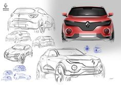Renault on Behance