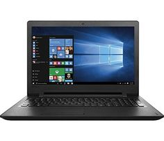 2016 Lenovo IdeaPad 156 High Performance Value Laptop PC Intel DualCore Celeron N3060 Processor 4GB RAM 500GB Hard Drive DVDCD Burner HDMI 80211AC WIFI Webcam Windows 10 Black >>> Find out more about the great product at the image link.