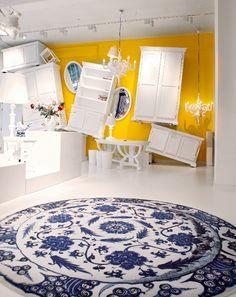 Moooi: Showroom och butik för nederländska Moooi, med design av Marcel Wanders och andra, både inhemska och utländska, formgivare. Westerstraat 187, Amsterdam.