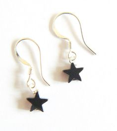 jade and star drop earrings by clutch and clasp   notonthehighstreet.com
