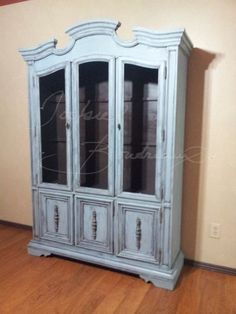 No 19 Vintage Stanley China Cabinet Chalk Paint Swedish Finish Click  Picture For More Details.