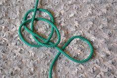 Náhrdelník z lana alebo šnúry II. Lany, Crochet Necklace, Homemade, Bracelets, Jewelry, Jewlery, Home Made, Jewerly, Schmuck