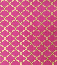ButtercreamTM Audrey Collection Cotton Fabric Gray Quatrefoil