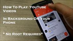 How to Listen Youtube Music in background on smartphone (even with screen off) --- Cum să asculţi muzică de pe Youtube în background pe un smartphone (chiar şi cu ecranul oprit)