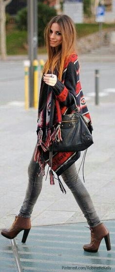 A perfect autumn outfit! ❤