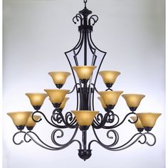 Found it at Wayfair - Versailles 15 Light Chandelier