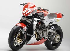 Form and function in perfect synchronicity: an MV Agusta Brutale Challenge racer.