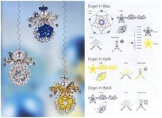 Angels of beads and beads. Selection schemes number 2 / New products / Biserok.org