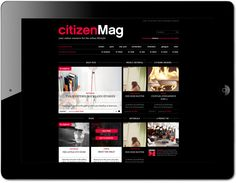 citizenMag for citizenM Hotels by www.formlab.nl