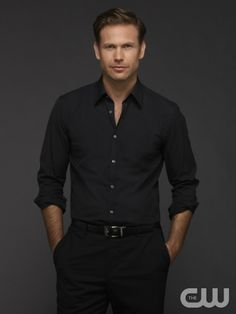 The Vampire Diaries -- Image Number: VD6_Alaric_1576r.jpg -- Pictured: Matt Davis as Alaric -- Photo: Frank Ockenfels 3/The CW -- © 2014 The CW Network, LLC. All rights reserved. #TVD Season 6