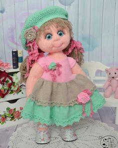 d63e8d75b4f Встречайте новую малышку Арину☺ ✓Кукла ищет дом🏡 ✓Ростик 39 см ✓Девушка с  приданым - два пышных платья