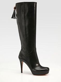 Gucci - Betty Tall Boots - Saks.com