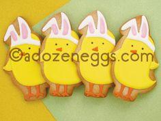 A Dozen Eggs Bake Shoppe | Happy Easter Sugar Cookie Collections