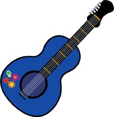 musical instrument acoustical guitar free christian clip art rh pinterest com guitar images clip art free guitar clip art free with sheet music