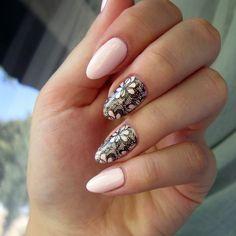 #anothersummernailart #koronka #stamping #bornprettystore #verylongnails #sweetpink #nails #nailart