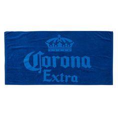 Corona Beer Blue Beach Towel