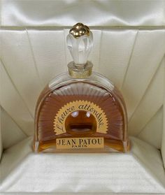 L'Heure Attendue by Jean Patou perfume bottle with original box, mint condition