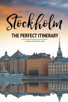 Jul 2019 - Stockholm, Sweden is a city full of incredible sights, delicious food, and much more. Use our first timer's guide for Stockholm Sweden to plan your trip! Backpacking Europe, Europe Travel Tips, European Travel, Travel Guides, Travel Destinations, Budget Travel, Travel Hacks, Traveling Europe, Travel Packing