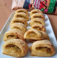 Cukkinis hasé Doughnut, Sausage, Meat, Desserts, Free, Tailgate Desserts, Deserts, Sausages, Postres