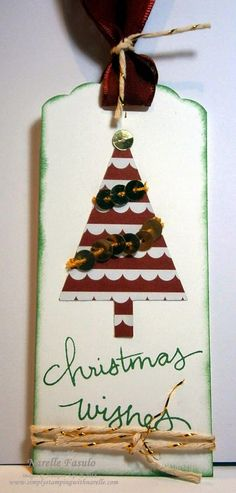 Narelle Fasulo - Independent Stampin' Up! Demonstrator - Christmas Stamp Club - sign up today