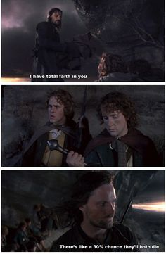 """Two, in fact.   Literally Just A Bunch Of Really Funny """"Lord Of The Rings"""" Tumblr Posts"""