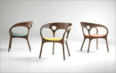 Anne chair for Bernhardt by Ross Lovegrove