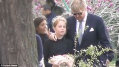 King Willem-Alexander comforted his daughter Princess Alexia as they attending the memorial event.