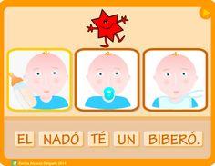 Activitat de l'Emilia Alcaraz Delgado, adreçada a l'alumnat d'Educació Infantil, amb la que podran practicar la construcció de les frases i la comprensió lectora.