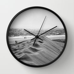 Walking the beach Wall Clock by julieart Wall Clocks, Beach, Decor, Decoration, Chiming Wall Clocks, Seaside, Dekoration, Inredning, Interior Decorating