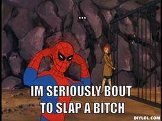 spiderman meme   Tumblr