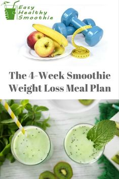 4 Points About Vintage And Standard Elizabethan Cooking Recipes! Weight Loss Meal Plan With Smoothies. Best Smoothie Recipes, Easy Smoothies, Healthy Diet Recipes, Weight Loss Smoothies, Easy Recipes, Detox Smoothies, Amazing Recipes, Green Smoothies, Shake Recipes