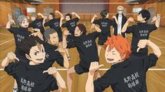 Everyone should watch haikyuu because it is heaven sent. It's hilarious, and you get so attached to these characters and the ships are awesome and it's just the most amazing thing I have ever seen in all my years of watching anime Haikyuu Nishinoya, Haikyuu Meme, Kageyama, Haikyuu Fanart, Haikyuu Volleyball, Volleyball Anime, Haikyuu Wallpaper, Cute Anime Wallpaper, Otaku