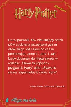 Harry Potter i Komnata Tajemnic - najlepsze fragmenty, najzabawniejsze cytaty | Sława i Lockhart #HarryPotter #cytat #cytaty #książki Harry Potter Humor, Harry Potter Facts, Jily, Harry Potter Wallpaper, Harry Potter Pictures, Wolfstar, Hermione, Draco, Fandom