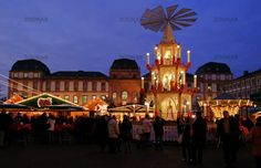 Christmas Market, Darmstadt, Germany MISS THIS SO MUCH!! Want to go back!!!!!