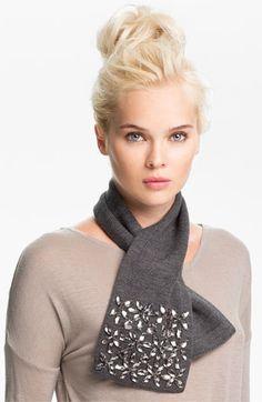 kate spade new york 'kaleidoball' merino wool scarf available at #Nordstrom