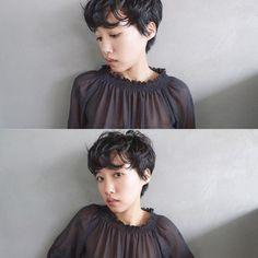 nanuk __store managerさんはInstagramを利用しています:「自由なショート model @karenwk_ makeup @___nanuksaki hair @yamashita_nanuk #nanukfamily #nanukyamashita」