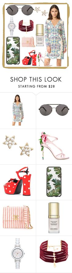 """""""SUMMER STYLE"""" by justinallison ❤ liked on Polyvore featuring Ella Moss, Seafolly, Estella Bartlett, Dolce&Gabbana, Yves Saint Laurent, Sonix, Chanel, DKNY, Vanessa Mooney and summertime"""