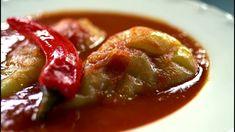Borbás Marcsi szakácskönyve - Töltött paprika (2019.09.22.) Food And Drink, Favorite Recipes, Beef, Meals, Youtube, Anna, Meat, Meal, Ox