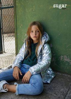 Alexia from Sugar Kids for Mango Fashion Shoot, Kids Fashion, Women's Fashion, Skater Kid, Kids Usa, Zara, Boys Swimwear, Kids Coats, Teenager Outfits