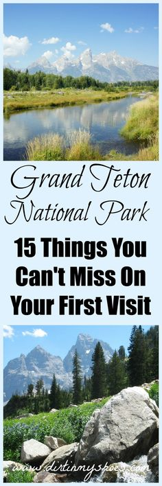 Grand Teton National Park - 15 Hikes and other incredible activity ideas from a former park ranger | Dirt In My Shoes: