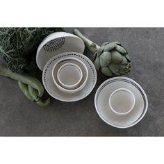 Patchy bowl Dot, white – Kajsa Cramer #interior #design