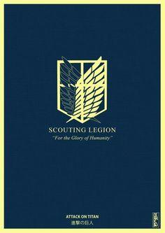 Shingeki no Kyojin Scouting Legion