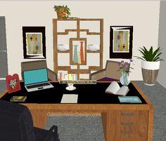 How to feng shui your desk   GatesInteriorDesign.com